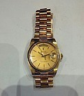 18K ROLEX PRESIDENTIAL WRISTWATCH 1983 ESTATE PIECE