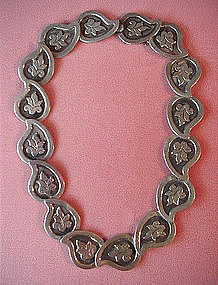 Sterling TAXCO NECKLACE by MARICELLA { 960