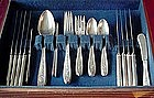 51 Pc WEDGWOOD STERLING SET  {1924 INTNAT'L