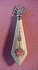 ENAMELED STER PERFUME BOTTLE ART DECO BEAUTY