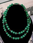 JOSEPH MAZER FAUX JADE NECKLACE
