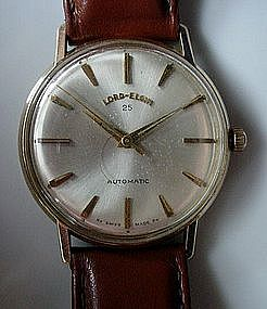 10K GENT'S 25JEWEL LORD ELGIN... SWISS MOVEMENT 1968