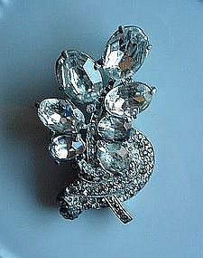 EARLY EISENBERG ORIGINAL BROOCH ca. 1925