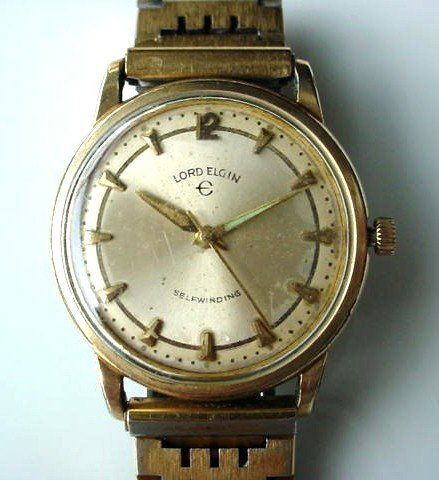 LORD ELGIN SELF WINDING VINTAGE GENT'S WRISTWATCH