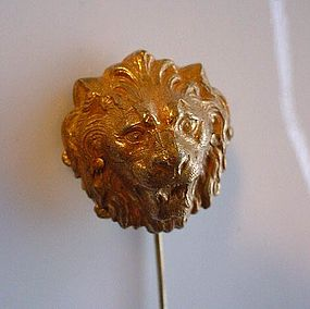 MIRIAM HASKELL LION STICKPIN