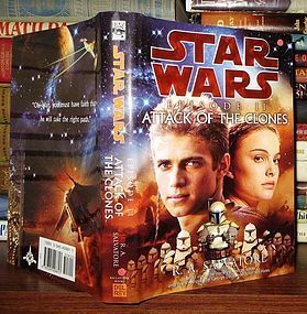 STAR WARS ATTACK OF THE CLONES  R.A. SALVATORE 1ST ED