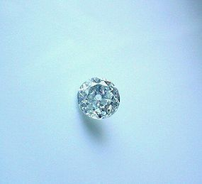 2.53 EUROPEAN CUT DIAMOND HI COLOR I2 CLARITY