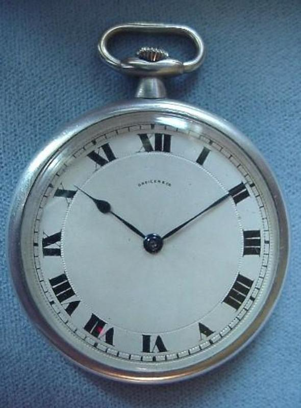 Swiss PLATINUM 19J POCKET WATCH {HAAS NEVEUX