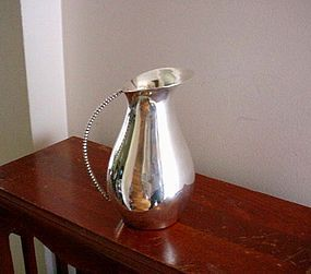 MEXICAN DESIGNER STERLING PITCHER