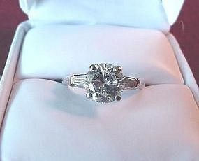 1.88 DIAMOND  ENGAGMENTNT RING {Bonanno Appraisal
