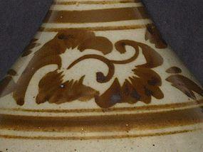 Yuan Dynasty - Lotus Design Cizhou Yao Yuhuchun Ping