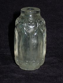 Qing Dynasty - Crystal Snuff Bottle