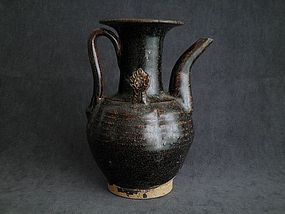 Song Dynasty - Black Glazed Ewer