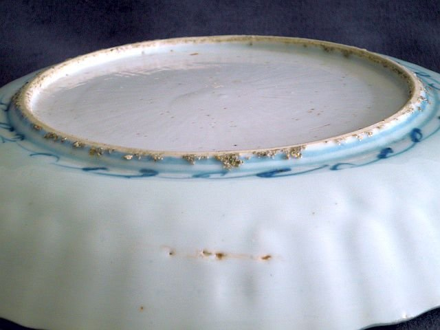 Ming Dynasty - Wanli Period Blue and White Kraak Dish