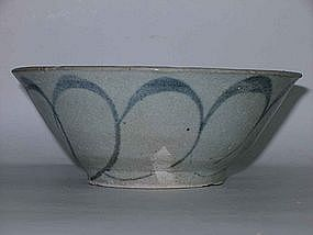 Ming Dynasty - Blue Rice Bowl from Sunken Ship