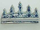 Blue and White Brush Rest � Early/Mid Ching Dynasty