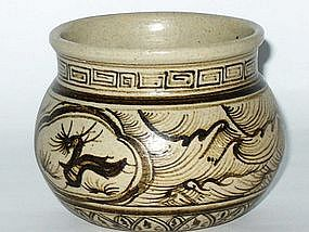 Song Dynasty - Small Cizhou Jar