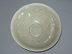 Song Dynasty - Incised Floral Bowl