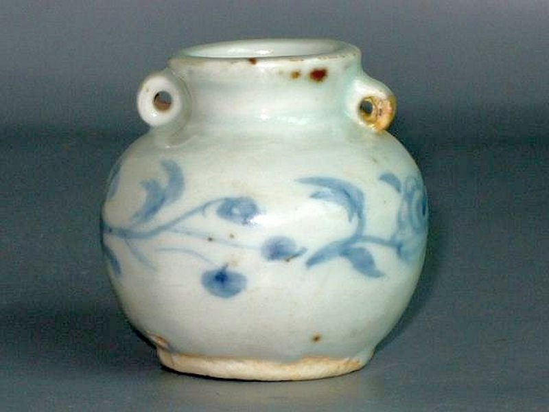 Yuan Dynasty - Blue and White Small Jarlet