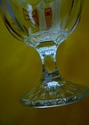 Vintage Budweiser Goblet King Of Beers Heavy Glass