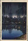 Tsuchiya Koitsu Woodblock Print - Sarusawa SOLD