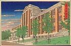 Kawase Hasui Rare Postcard Woodblock print - SOLD