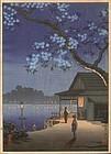 Tsuchiya Koitsu Woodblock Print - Takeya SOLD