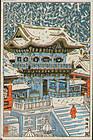 Tsuchiya Koitsu Woodblock Print Yomei -Variant SOLD