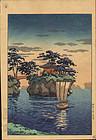 Tsuchiya Koitsu Woodblock Print - Matsushima SOLD