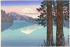 Tsuchiya Koitsu Woodblock Print - Ashinoko SOLD
