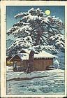 Shiro Kasamatsu Japanese Woodblock Print - Shitomae