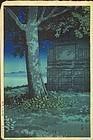 Kawase Hasui Woodblock Print  Hachirogata 1927 SOLD