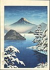 Tsuchiya Koitsu Woodblock Print - West Izu, Mitsunohama
