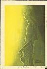 Shiro Kasamatsu Japanese Woodblock Print - Kudara Kannon - L.E. SOLD