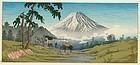 Takahashi Shotei Woodblock Print - Otome Mountain Pass SOLD