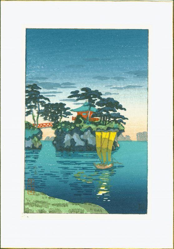 Tsuchiya Koitsu Japanese Woodblock Print - Matsushima