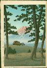 Kawase Hasui Japanese Woodblock Print - Evening at Tagonoura