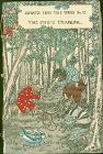 Hasegawa Japanese Fairy Tales Woodblock Book  -The Cub's Triumph 1886