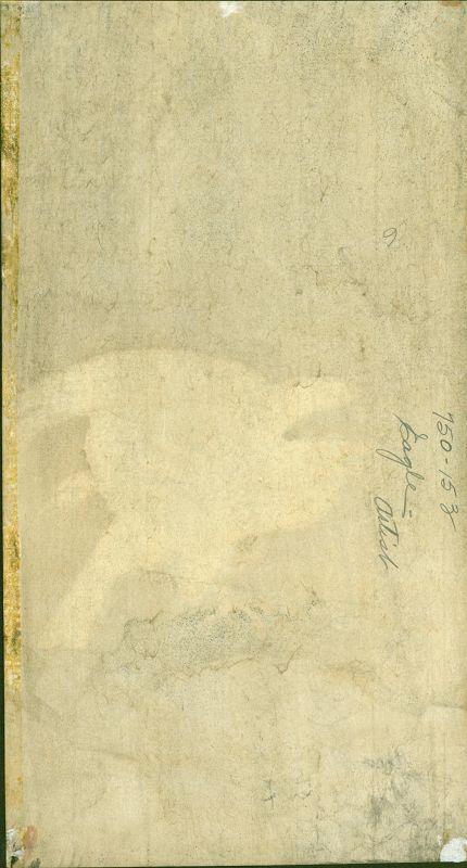 Ohara Koson  Woodblock Print -  White Eagle On Branch in Storm RARE