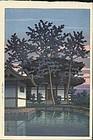 Kawase Hasui Woodblock Print - Nara, 1st Edition (SOLD)