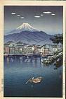Tsuchiya Koitsu Woodblock Print - Fuji Tokaido SOLD
