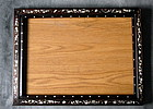 Chinese Rosewood Picture Frame with Inlays