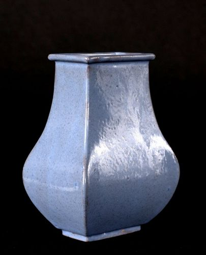Small Jun-Glaze Yixing  (��) Vase, Early Qing Dynasty