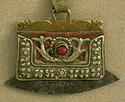 antique Tibetan flint strike pouch