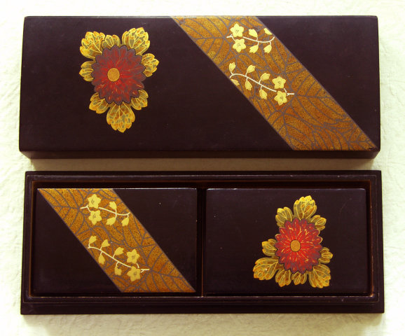 Japanese Nested Lacquer Boxes