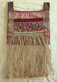 Chinese Yi Ethnic Minority embroidered bag