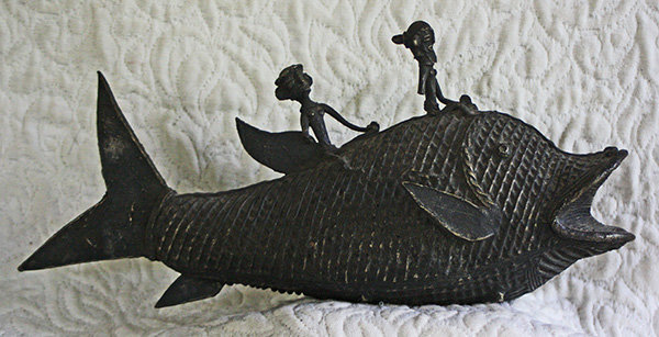 Antique Lost Wax Cast figure from Orissa India