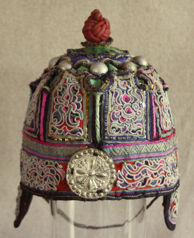 Chinese Dong Ethnic Minority Childs Hat
