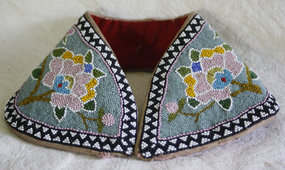 Antique Chinese Beaded headband