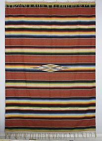 Large Mexican Saltillo Serape